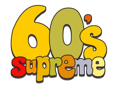 60s Supreme text only logo