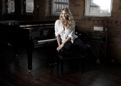Meeting Camscott Leisure's pianist Jennie