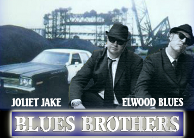 The Blues Brothers on a mission