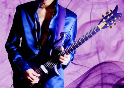 Mark Anthony As Prince With his Guitar1