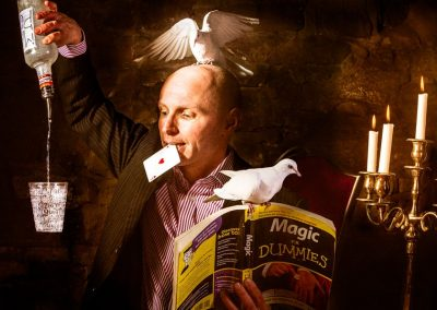 Scoop Magician Paul Dawson